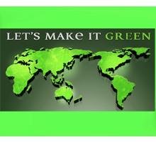 Let's make it green